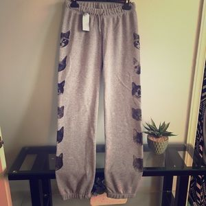 Pants - NWT kitten joggers